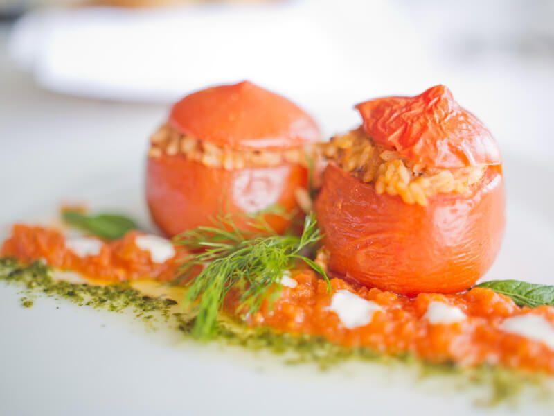 Plat à déguster dans les restaurants du bateau de croisière Celestyal Olympia