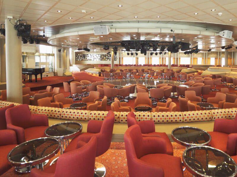 SELENE Lounge du bateau de croisière Celestyal Olympia