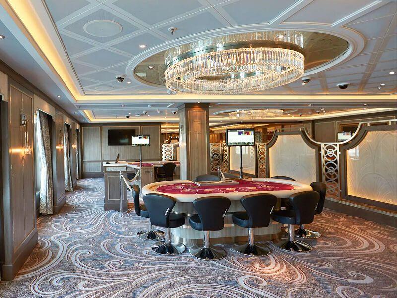 Casino du bateau de croisière Majestic Princess