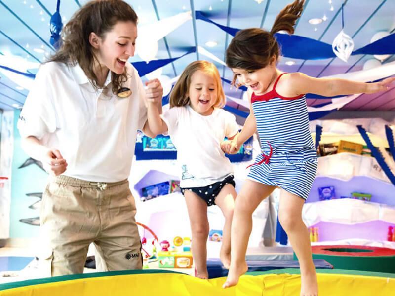 Club enfants du bateau de croisière MSC Seaview