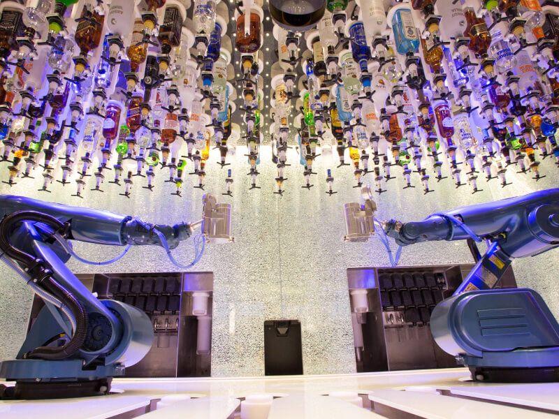 Bionic Bar du bateau de croisière Symphony of the Seas