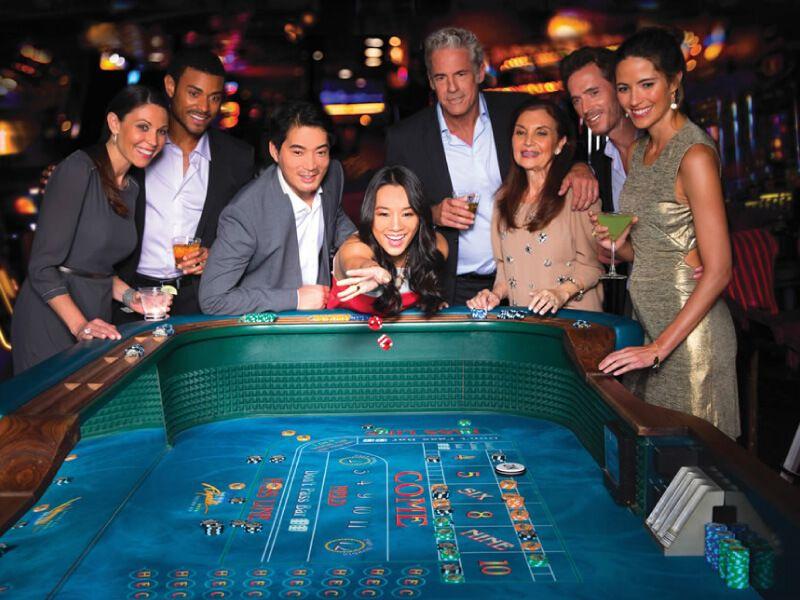 Casino du bateau de croisière Symphony of the Seas