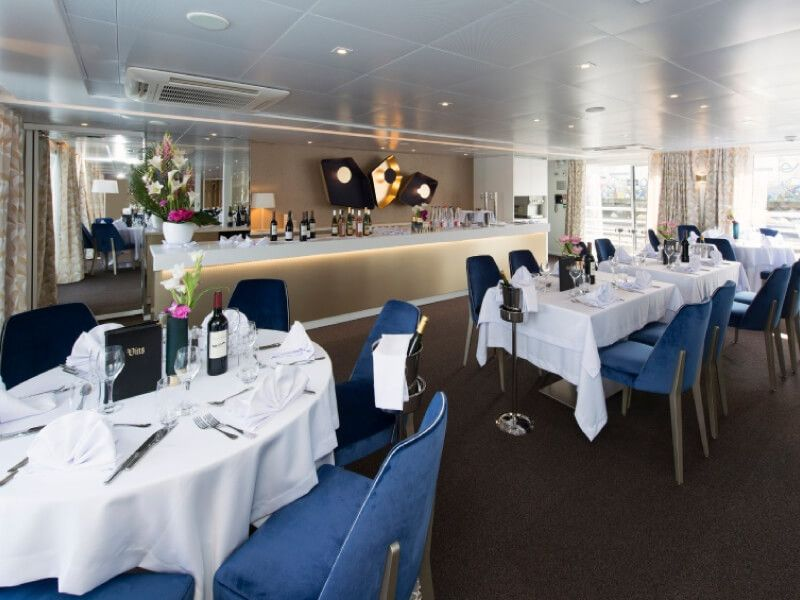 Restaurant du bateau MS Symphonie II