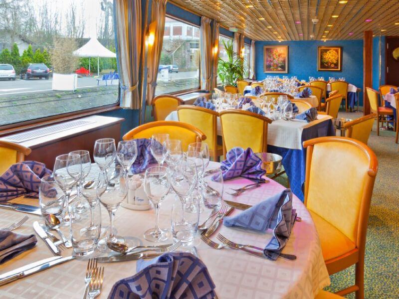 Restaurant du bateau MS La Boheme