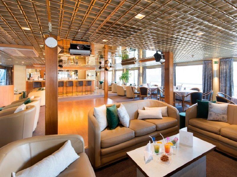 Bar à bord du Ms Botticelli