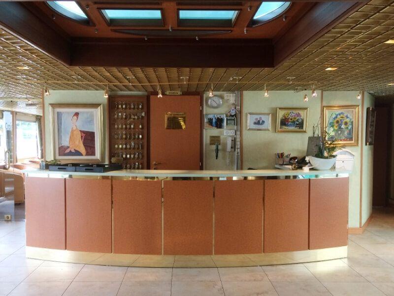 Réception du bateau MS Modigliani