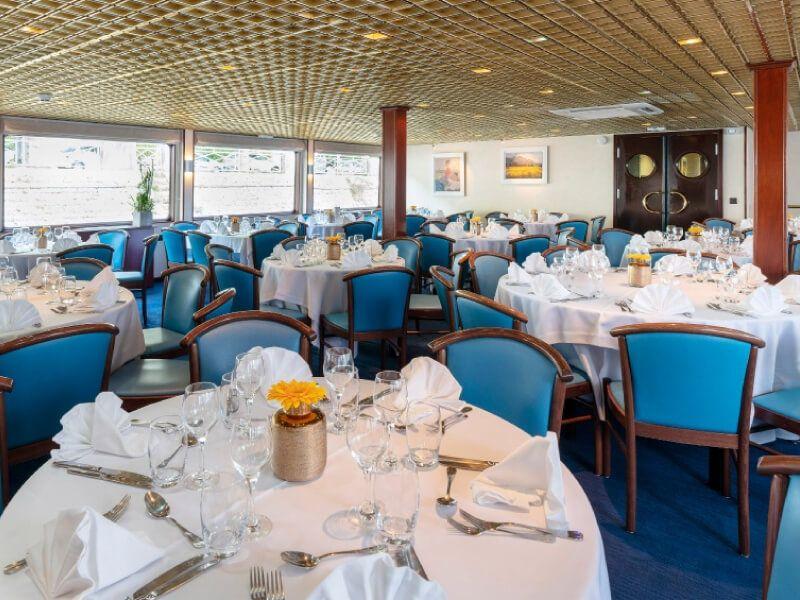 Restaurant du bateau MS Mistral