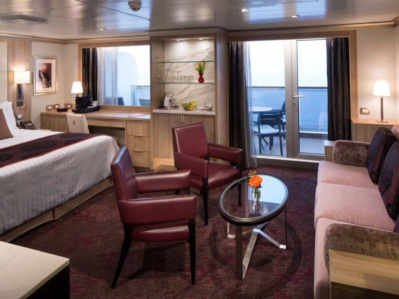 Suite bar du bateau MS Nieuw Statendam