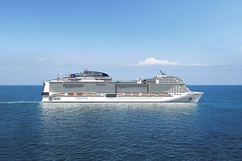 Photo du bateau de croisière MSC Bellissima