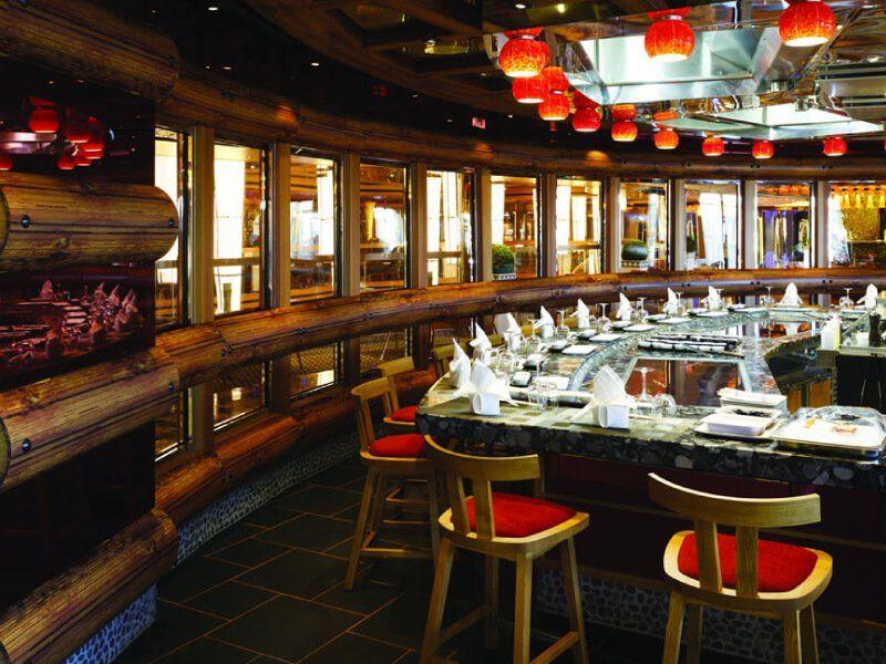 Restaurant : Tepenyaki du bateau de croisière Costa Diadema