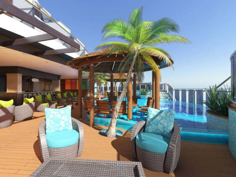 Bar du bateau de croisière Carnival Panorama