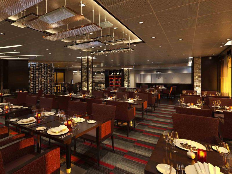 Steakhouse du bateau de croisière Carnival Panorama