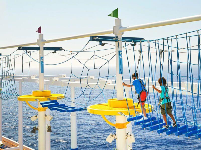 Waterworks du bateau de croisière Carnival Panorama