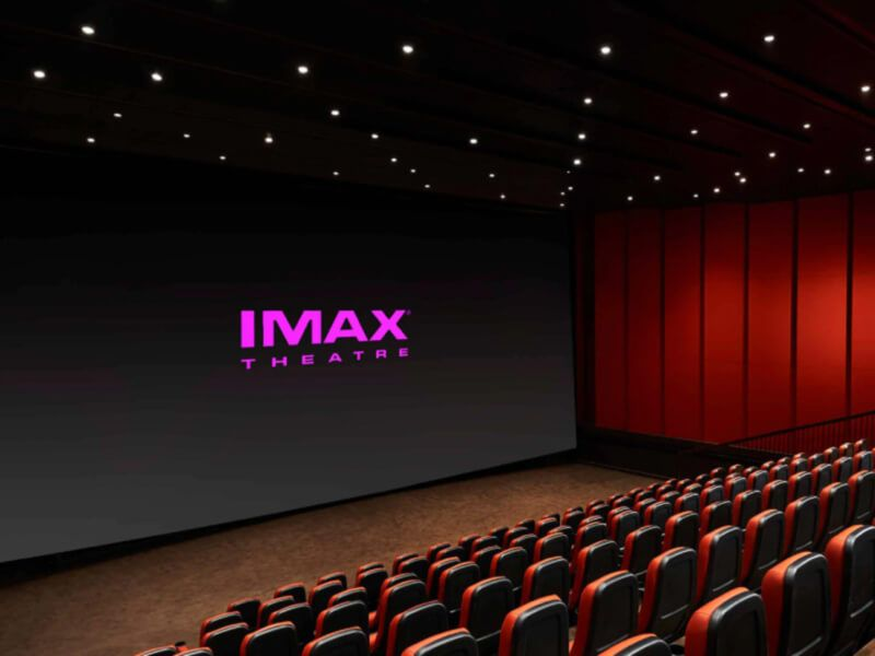 Théâtre IMAX du bateau de croisière Carnival Breeze