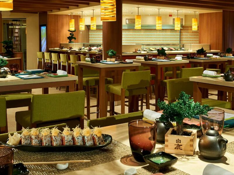 Bonsai Sushi du bateau de croisière Carnival Valor