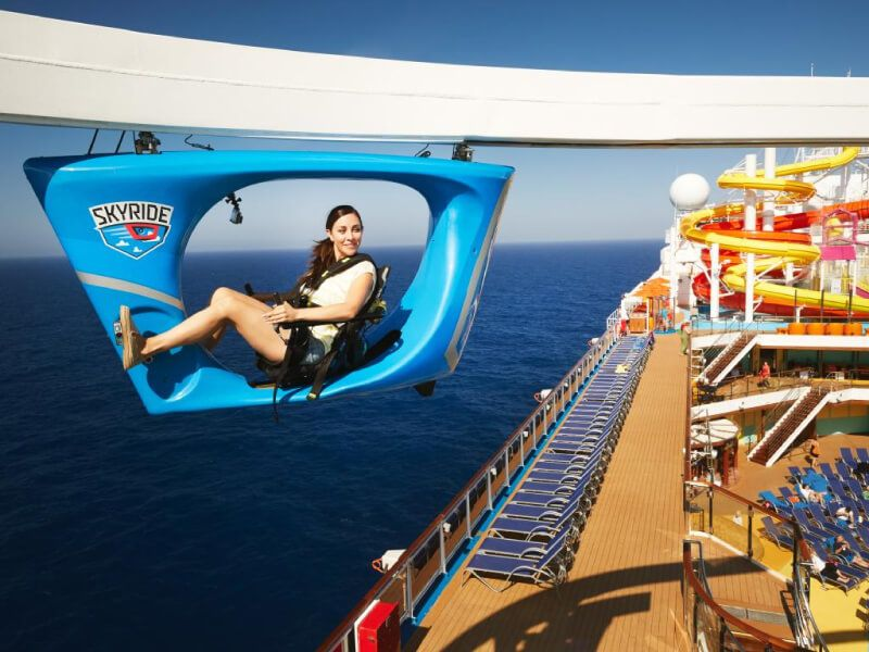SkyRide du bateau de croisière Carnival Inspiration