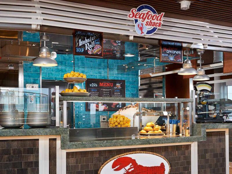 Seafood Shack du bateau de croisière Carnival Miracle