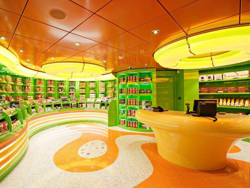 Boutique pour enfants du bateau de croisière MSC Splendida