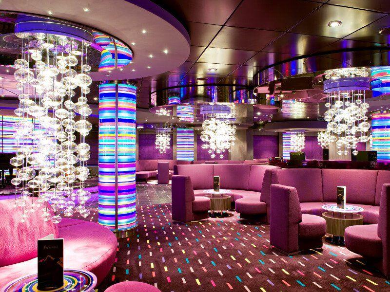 Piano Bar du bateau de croisière MSC Splendida