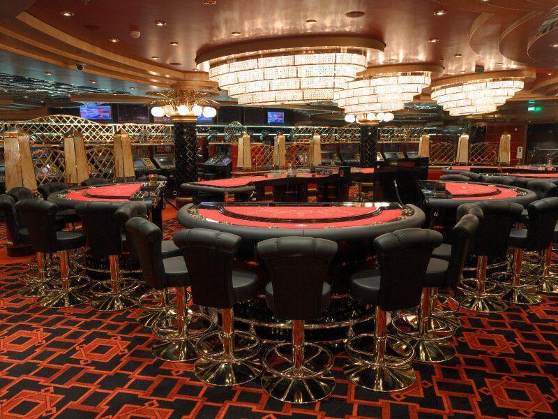 Le Casino du bateau de croisière MSC Fantasia