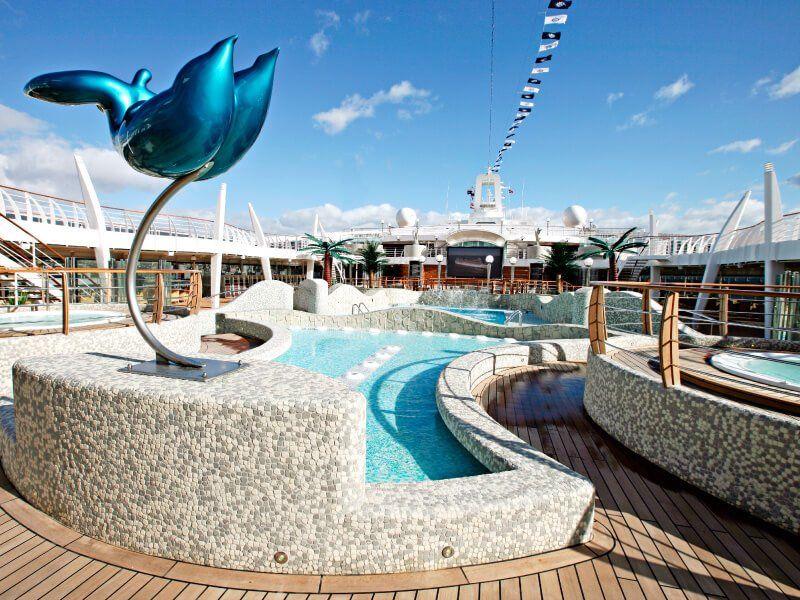Pataugeoire du bateau de croisière MSC Fantasia