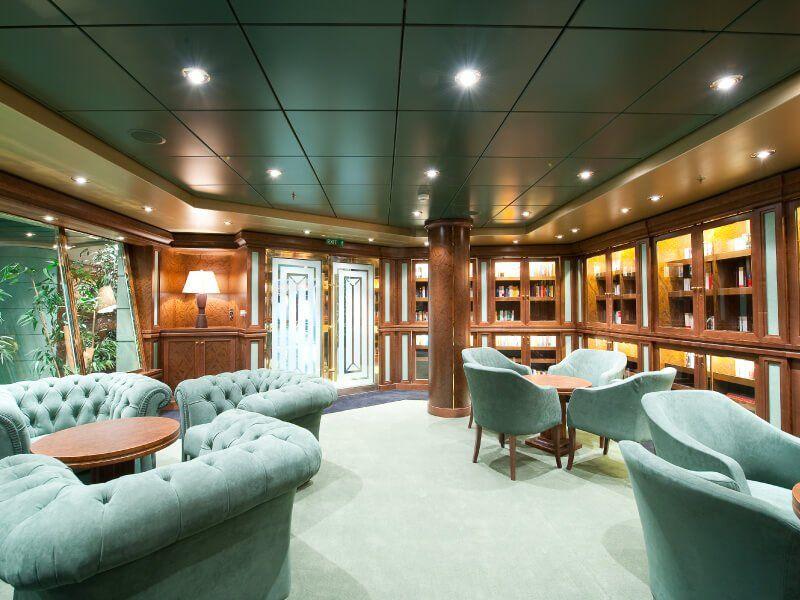 Bibliothèque du bateau de croisière MSC Magnifica