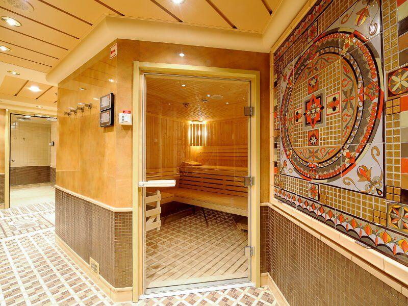 Sauna du bateau de croisière MSC Magnifica