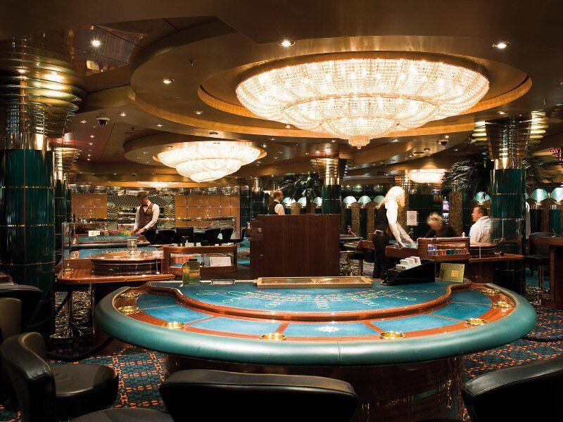 Casino du bateau de croisière MSC Orchestra
