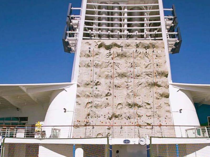 Mur Escalade du bateau de croisière Adventure of the Seas