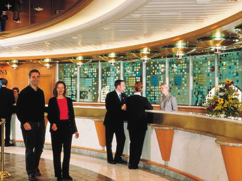 Réception du bateau de croisière Allure of the Seas