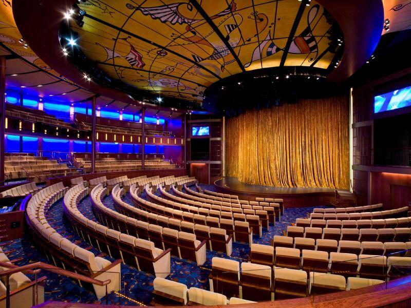 Théâtre Solstice du bateau de croisière Celebrity Solstice