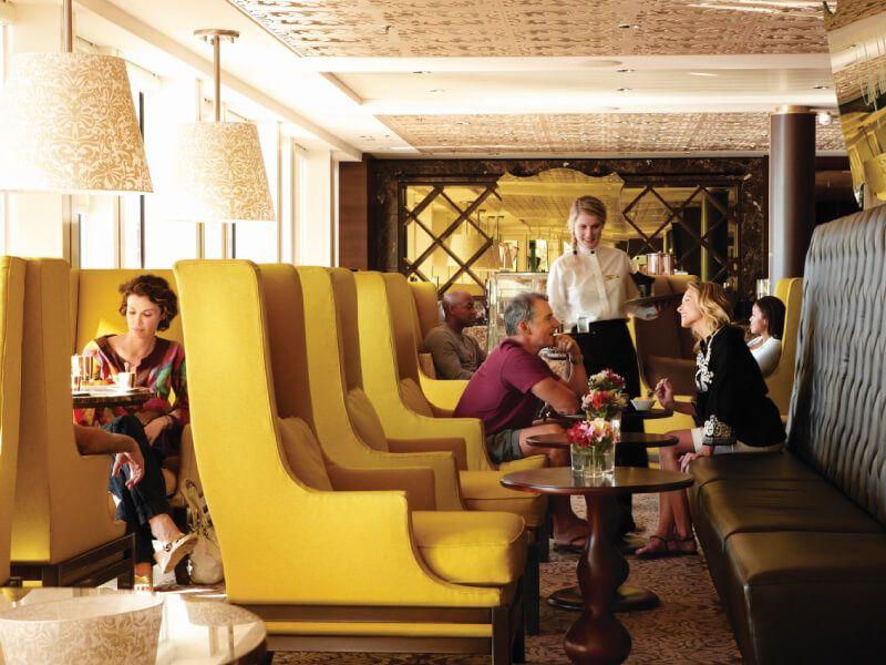 Café du bateau de croisière Celebrity Equinox