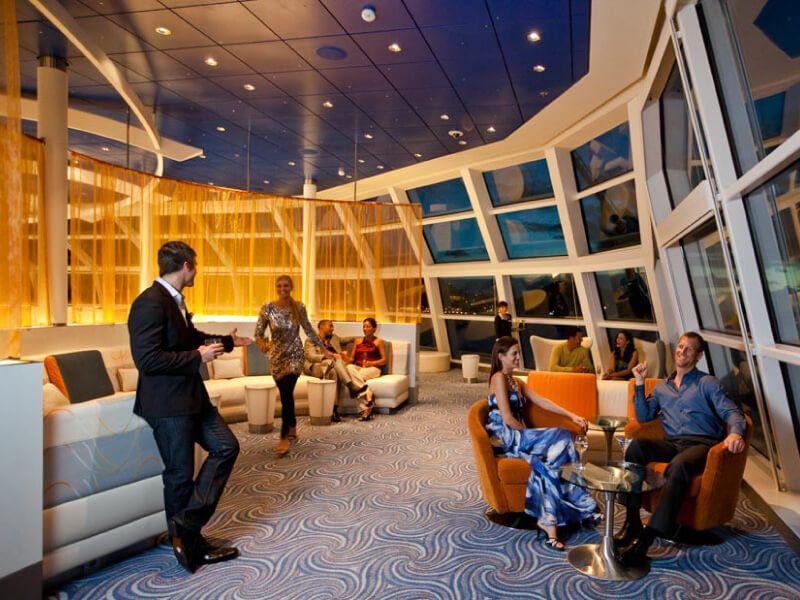 Observation Lounge du bateau de croisière Celebrity Equinox