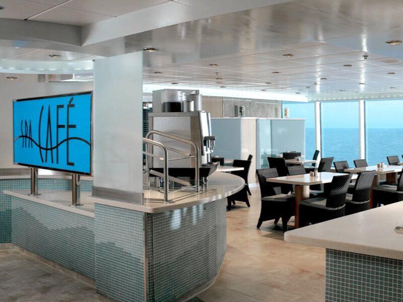 Spa café du bateau de croisière Celebrity Equinox