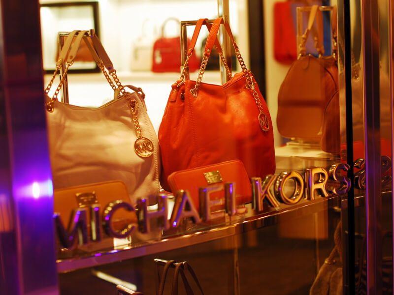 Boutique Michael Kors à bord du bateau de croisière Celebrity Silhouette