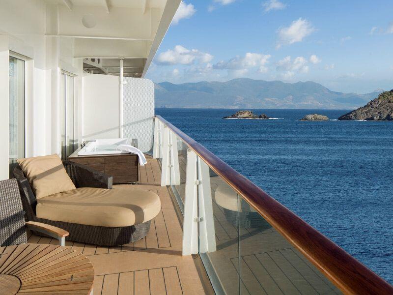 La Suite Royale du bateau de croisière Celebrity Silhouette