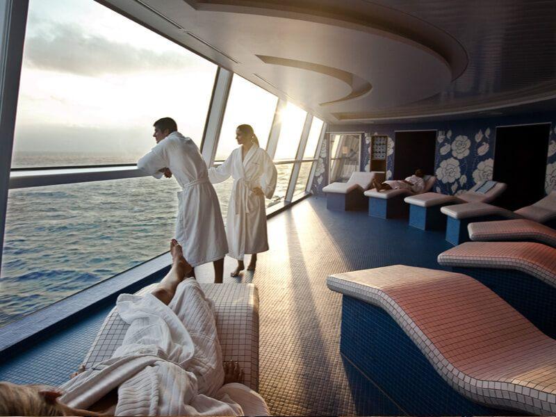 Aqua spa du bateau de croisière Celebrity Reflection