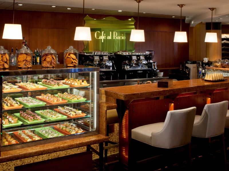 Café Al Bacio du bateau de croisière Celebrity Infinity