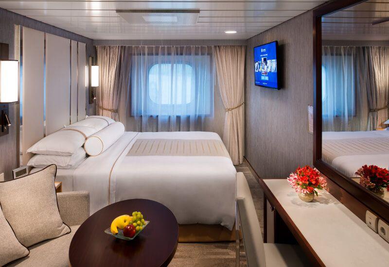 Cabine Extérieure du bateau de croisière Azamara Journey
