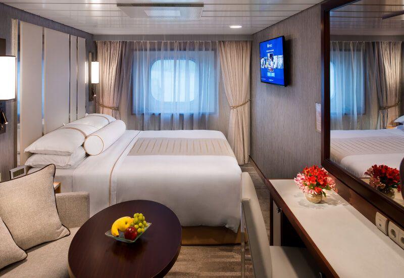 Cabine Extérieure du bateau de croisière Azamara Quest