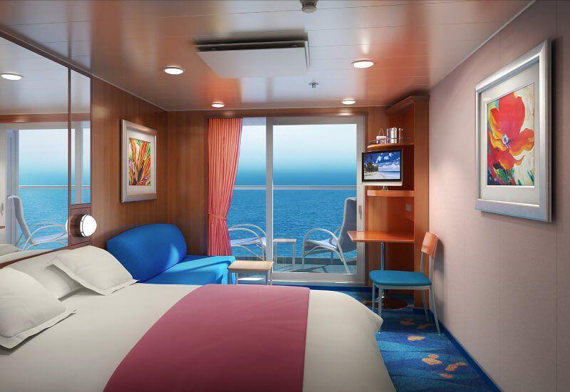 Cabine Balcon du bateau de croisière Norwegian Jade