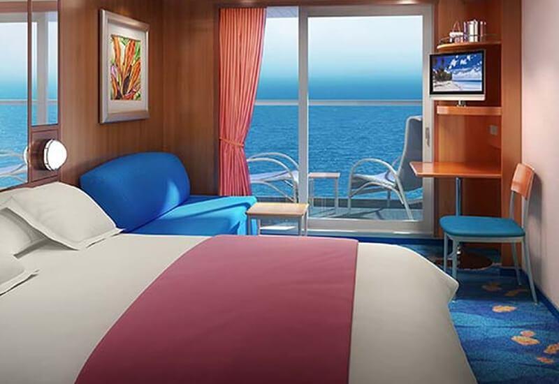 Cabine Balcon du bateau de croisière Norwegian Pearl