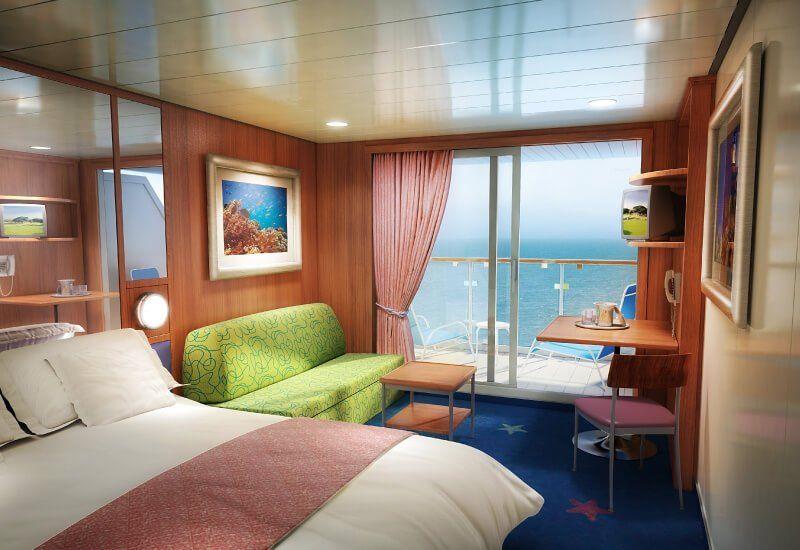 Cabine Balcon du bateau de croisière Norwegian Star