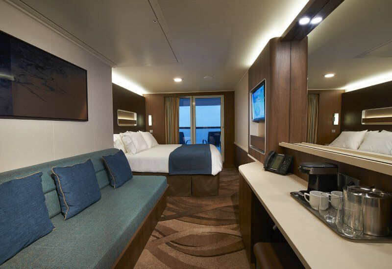 Cabine Balcon du bateau de croisière Norwegian Escape