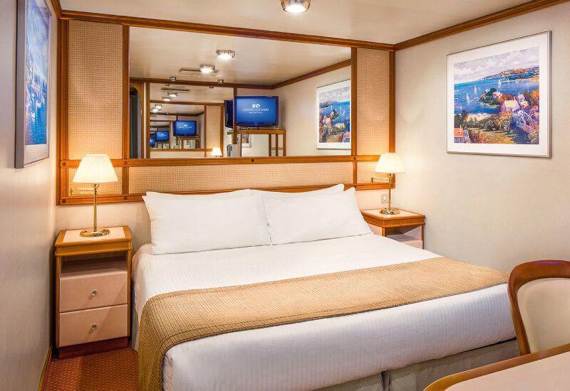 Cabine Intérieure du bateau de croisière Coral Princess