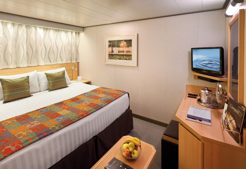 Cabine intérieure du bateau de croisière MS Nieuw Amsterdam