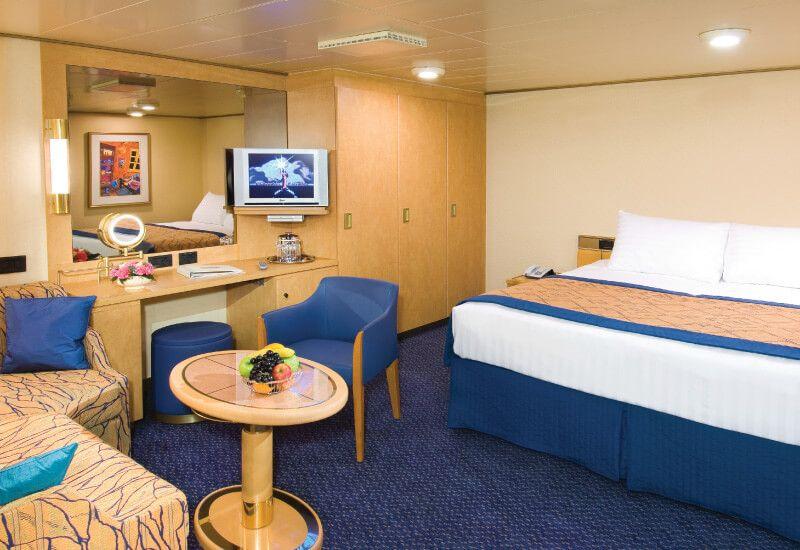Cabine intérieure du bateau de croisière MS Noordam