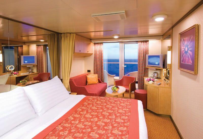 Cabine balcon du bateau de croisière MS Oosterdam
