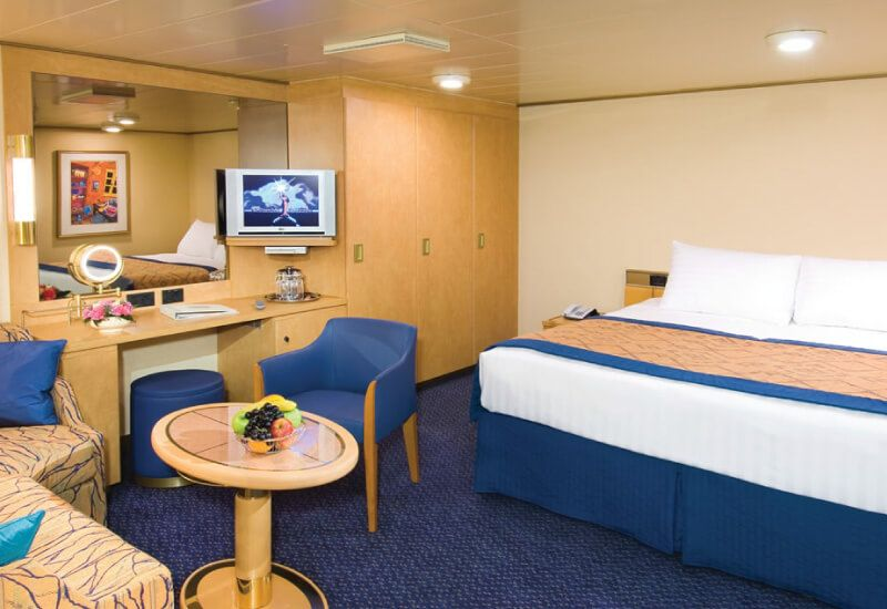 Cabine intérieure du bateau de croisière MS Oosterdam