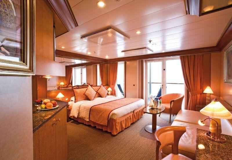 Suite du bateau de croisière Costa Mediterranea